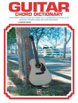 Guitar Chord Dictionary: A Fact-Filled Reference Book That Allows You  (AL-00-377)