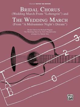 Bridal Chorus (Wedding March from <I>Lohengrin</I>) and The Wedding Ma (AL-00-5895BGTX)