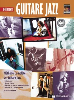 Guitare Jazz Debutant Tab [Beginning Jazz Guitar]: Methode Complete de (AL-00-40668)