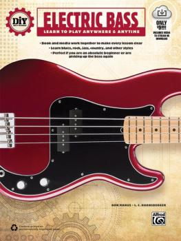 DiY (Do it Yourself) Electric Bass: Learn to Play Anywhere & Anytime (AL-00-44148)