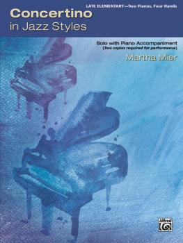 Concertino in Jazz Styles: Solo with Piano Accompaniment (AL-00-46093)