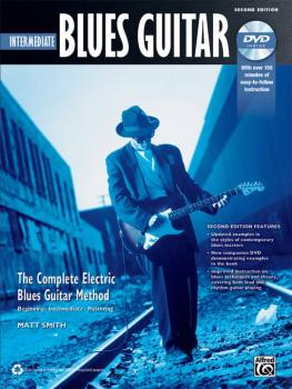 The Complete Blues Guitar Method: Intermediate Blues Guitar (Second Ed (AL-00-40883)