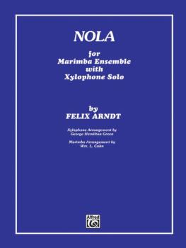 Nola (For Marimba Ensemble with Xylophone Solo 5 Players) (AL-00-FXSF600)