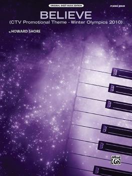 Believe (Winter Olympics 2010): CTV Promotional Theme (AL-00-35001)