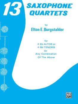 13 Saxophone Quartets (AL-00-PROBK00805)