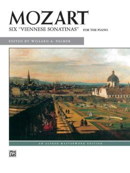 6 Viennese Sonatinas (AL-00-1707)