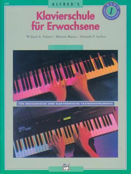 Alfred's Basic Adult Piano Course: German Edition Lesson Book 1 (AL-00-6268)