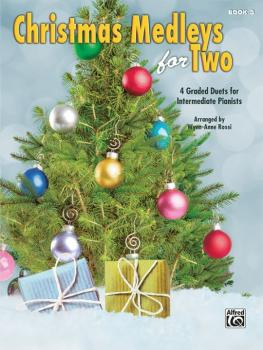 Christmas Medleys for Two, Book 3: 4 Graded Duets for Intermediate Pia (AL-00-44758)