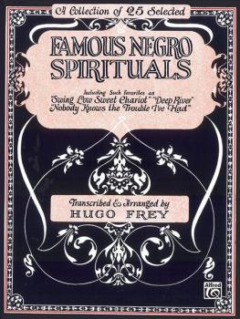 Famous Negro Spirituals (AL-00-TMF0027)