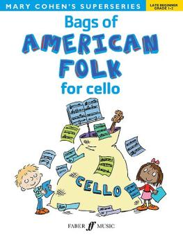 Bags of American Folk for Cello (AL-12-057153418X)