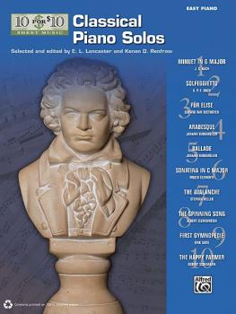 10 for 10 Sheet Music: Classical Piano Solos (AL-00-36318)