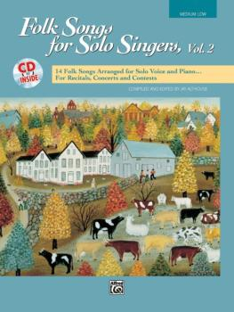 Folk Songs for Solo Singers, Vol. 2: 14 Folk Songs Arranged for Solo V (AL-00-16305)