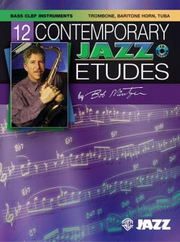 12 Contemporary Jazz Etudes (AL-00-ELM04015)