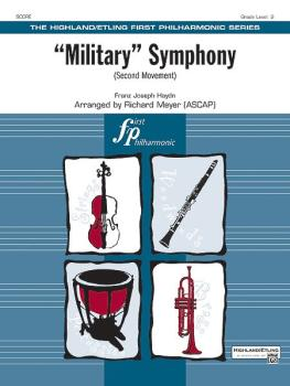 """Military"" Symphony (Second Movement) (AL-00-33739S)"