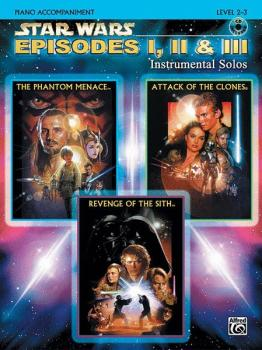 <I>Star Wars</I>®: Episodes I, II & III Instrumental Solos (AL-00-IFM0526CD)