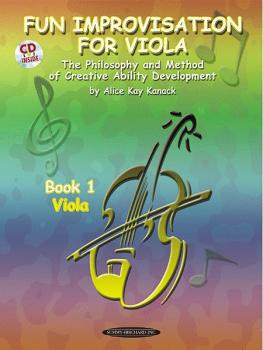 Fun Improvisation for Viola: The Philosophy and Method of Creative Abi (AL-00-0774CD)