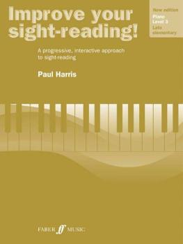 Improve Your Sight-reading! Piano, Level 3 (New Edition): A Progressiv (AL-12-0571533132)