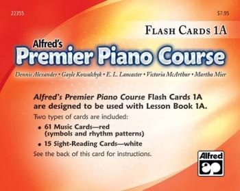 Premier Piano Course, Flash Cards 1A (AL-00-22355)