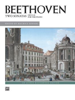2 Sonatas, Opus 49 (AL-00-3582)