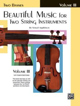 Beautiful Music for Two String Instruments, Book III (AL-00-EL02225)