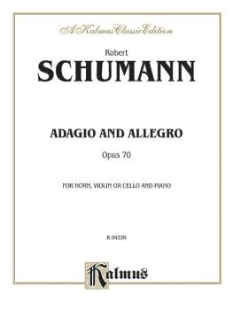 Adagio and Allegro, Opus 70 (AL-00-K04530)