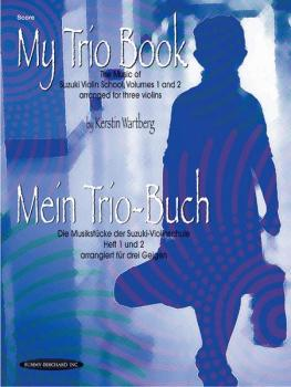 My Trio Book (Mein Trio-Buch) (Suzuki Violin Volumes 1-2 arranged for  (AL-00-19640X)
