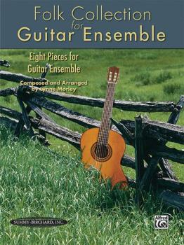 Folk Collection for Guitar Ensemble: Eight Pieces for Guitar Ensemble (AL-00-27990)