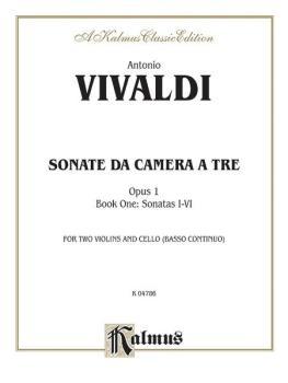 Sonatas da Camera a Tre, Opus 1 (Volume I, Nos. 1-6) (AL-00-K04786)
