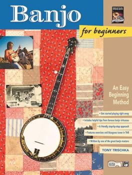 Banjo for Beginners: An Easy Beginning Method (AL-00-19410)