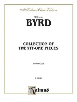 Collection of Twenty-One Pieces for Organ (AL-00-K09080)