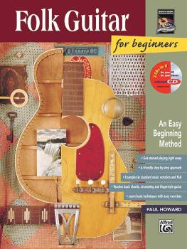 Folk Guitar for Beginners: An Easy Beginning Method (AL-00-14970)