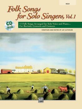 Folk Songs for Solo Singers, Vol. 1: 11 Folk Songs Arranged for Solo V (AL-00-21838)