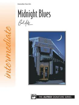 Midnight Blues (for left hand alone) (AL-00-22468)