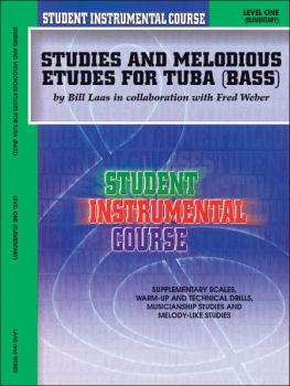 Student Instrumental Course: Studies and Melodious Etudes for Tuba, Le (AL-00-BIC00167A)