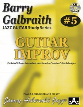 Barry Galbraith Jazz Guitar Study Series #5: Guitar Improv: Contains 1 (AL-24-BG5)