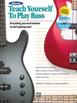 Alfred's Teach Yourself to Play Bass: Everything You Need to Know to S (AL-00-44503)