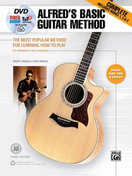 Alfred's Basic Guitar Method, Complete (Third Edition): The Most Popul (AL-00-44749)