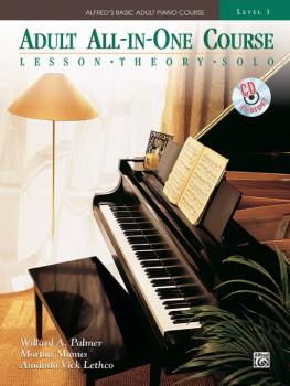 Alfred's Basic Adult All-in-One Course, Book 3: Lesson * Theory * Tech (AL-00-36617)