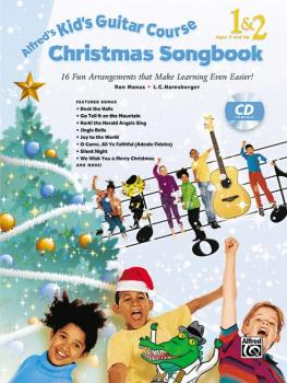 Alfred's Kid's Guitar Course Christmas Songbook 1 & 2: 15 Fun Arrangem (AL-00-42696)