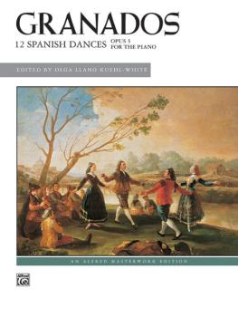 12 Spanish Dances, Opus 5 (AL-00-37300)