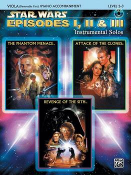 <I>Star Wars</I>®: Episodes I, II & III Instrumental Solos for Strings (AL-00-IFM0528CD)