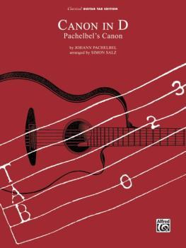"""Canon in D (""""Pachelbel's Canon"""") (AL-00-0311CGTX)"""