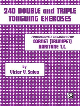 240 Double and Triple Tonguing Exercises (AL-00-PROBK01091)
