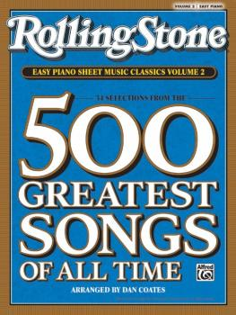 <i>Rolling Stone</i>® Easy Piano Sheet Music Classics, Volume 2: 34 Se (AL-00-30196)