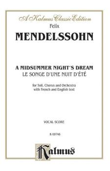 A Midsummer Night's Dream (Le Songe d'une Nuit d'été), Opus 61 (AL-00-K09746)