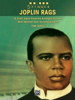 5 Finger Joplin Rags: 10 Scott Joplin Favorites Arranged for Piano wit (AL-00-38933)