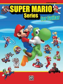 Super Mario™ Series for Guitar: 34 Super Mario™ Themes Arranged for Gu (AL-00-38586)