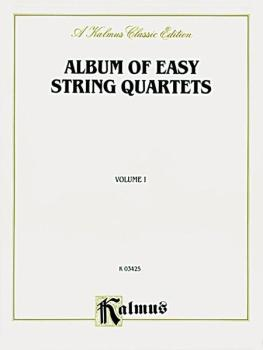 Album of Easy String Quartets, Volume I (Pieces by Bach, Haydn, Mozart (AL-00-K03425)