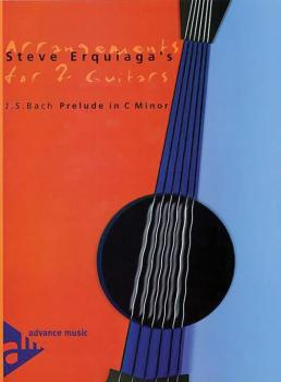 Steve Erquiaga's Arrangements for 2 Guitars: Prelude in C Minor (AL-01-ADV10302)