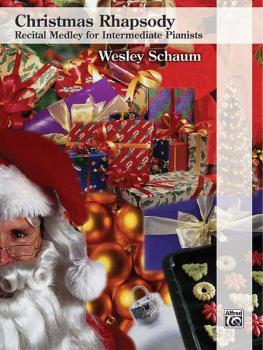 Christmas Rhapsody: Recital Medley for Intermediate Pianists: O Come,  (AL-00-33617)